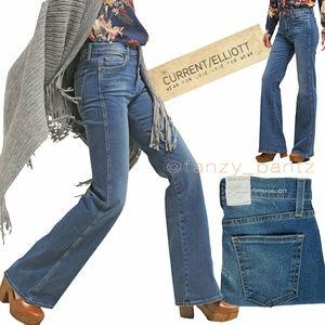 Current/Elliott Girl Crush 'dustbowl' flare jeans